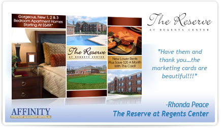 The Reserve at Regents Center Postcard Testimonial