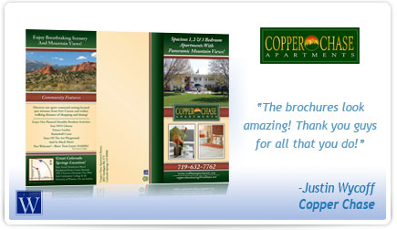 Copper Chase Brochure Testimonial